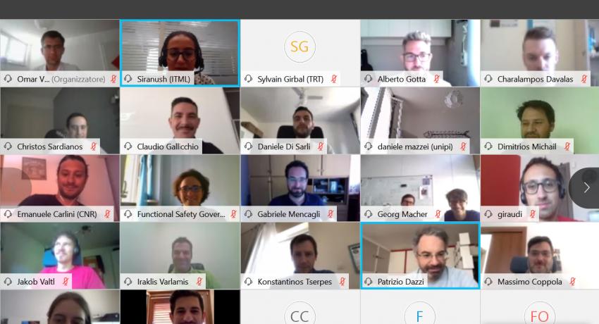 Online Consortium Meeting