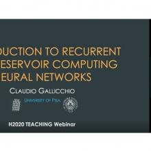1st TEACHING webinar